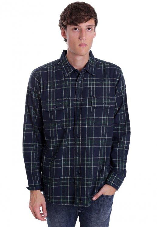 7b9f199ca5d7 Obey - Highland Woven Green Multi - Shirt - Streetwear Shop - Impericon.com  AU