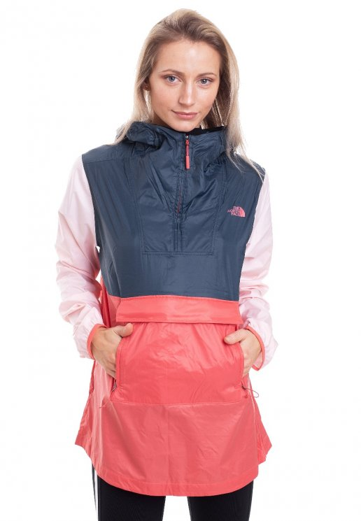 The North Face Fanorak Spiced Coral Multi Jacket