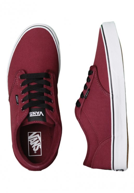 5e55f4efec91 Vans - Atwood Canvas Oxblood White - Shoes - Impericon.com US