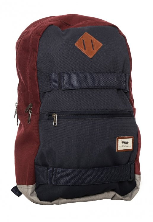 efe1c903b3f Vans - Authentic III Sk8pack Port Royale Colorblock - Backpack - Impericon.com  Worldwide