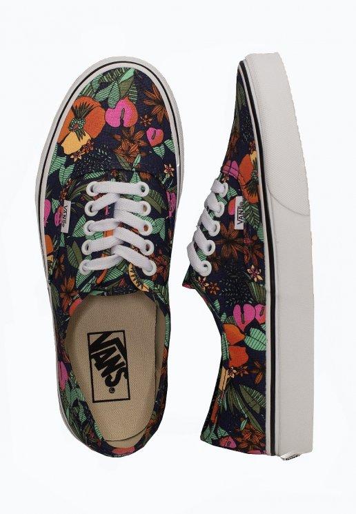 Vans Authentic (Multi Tropic) DrsblTrue White Shoes