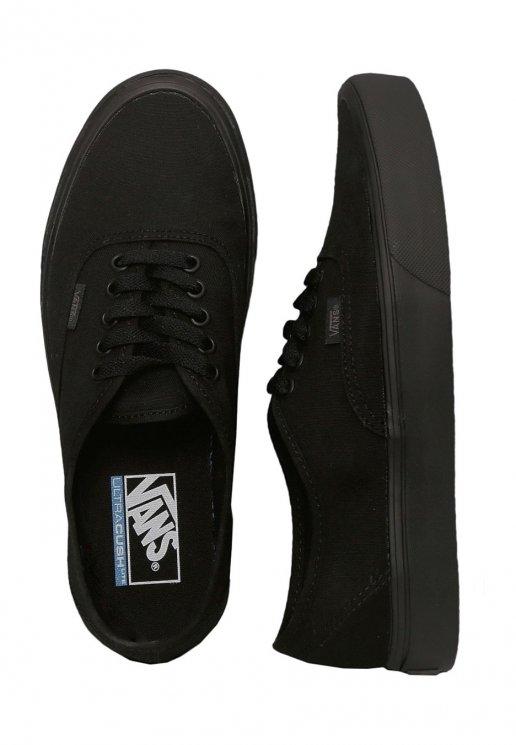 Vans Authentic Lite Canvas BlackBlack Girl Shoes