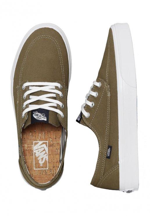 47ea06b4e0 Vans - Brigata Deck Club Covert Green - Shoes - Impericon.com UK