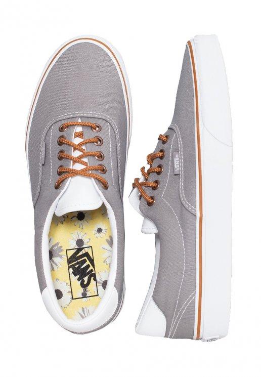 Vans - Era 59 (C\u0026L) Gray/Floral - Shoes