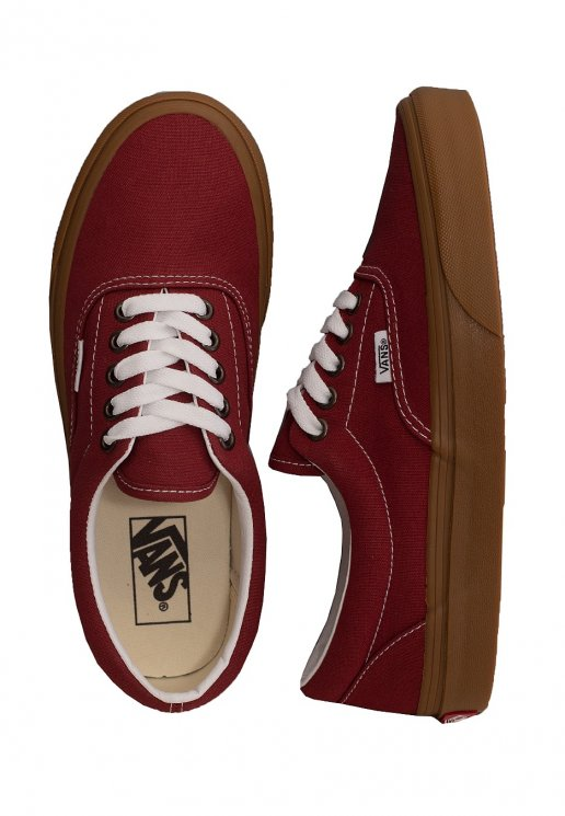 Vans Era (Gum) RosewoodTrue White Shoes