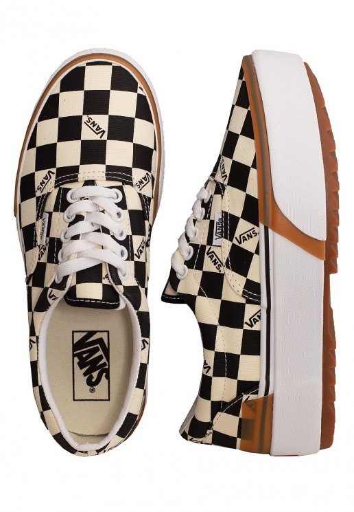 Vans Era Stacked (Checkerboard) MultiTrue Shoes