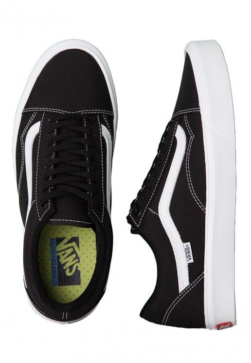 Vans Old Skool Lite BlackTrue White Girl Shoes