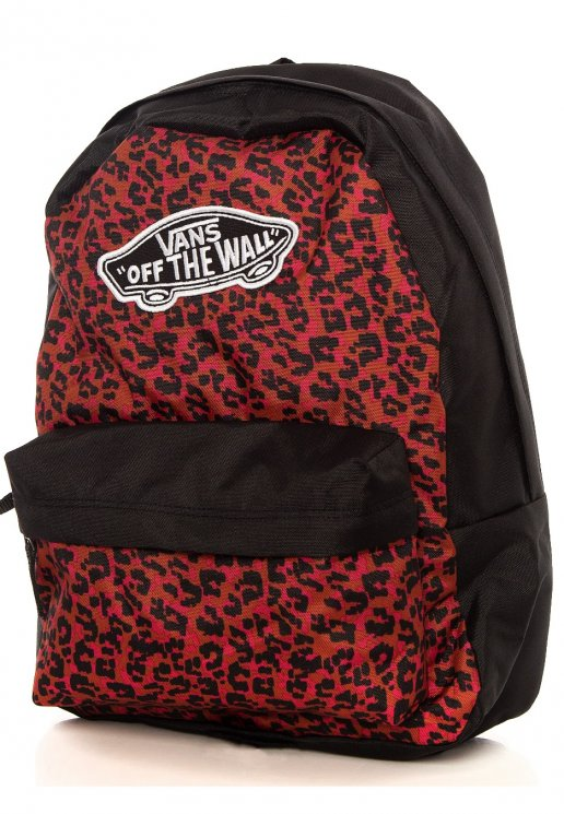 Mochila Vans Realm Backpack Wild Leopard