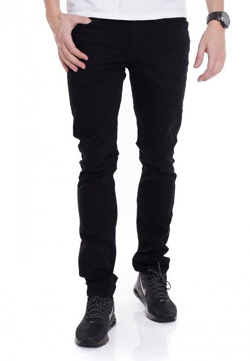 V76 Overdye Black Skinny Jeans