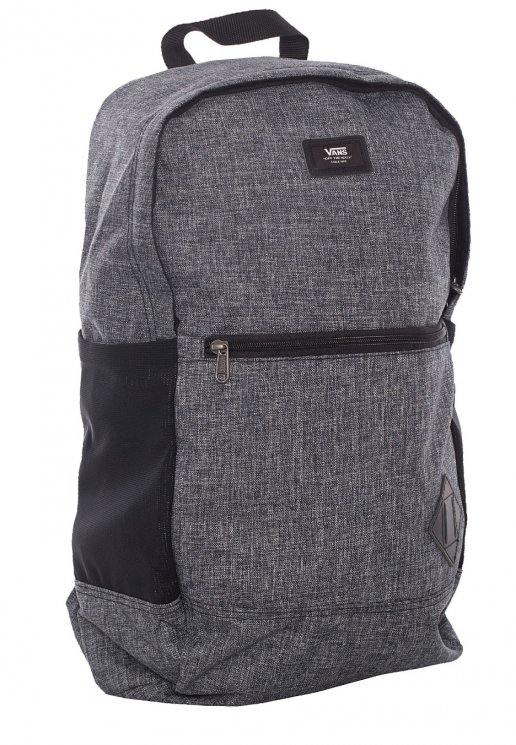 01a70dafb0 Vans - Van Doren III Heather Black Suiting - Backpack - Impericon.com AU