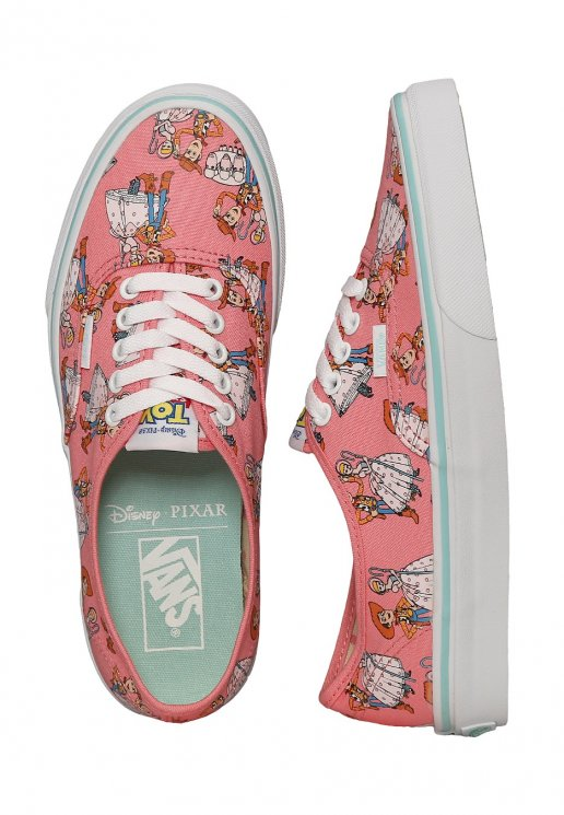 Vans X Toy Story Authentic Toy Story Woody Bo Peep Girl Shoes