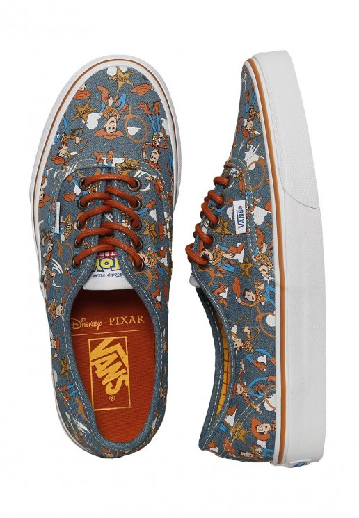 Vans X Toy Story Authentic Toy Story Woody True White Girl Shoes