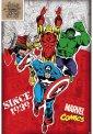 Marvel Comics - Heroes - Poster