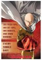One Punch Man - Training - Poster