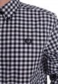 Fred Perry - 2 Colour Gingham Snow White - Shirt