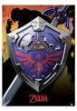 The Legend Of Zelda - Hylian Shield Metallic - Poster