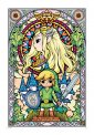 The Legend Of Zelda - Stained Glass - Poster