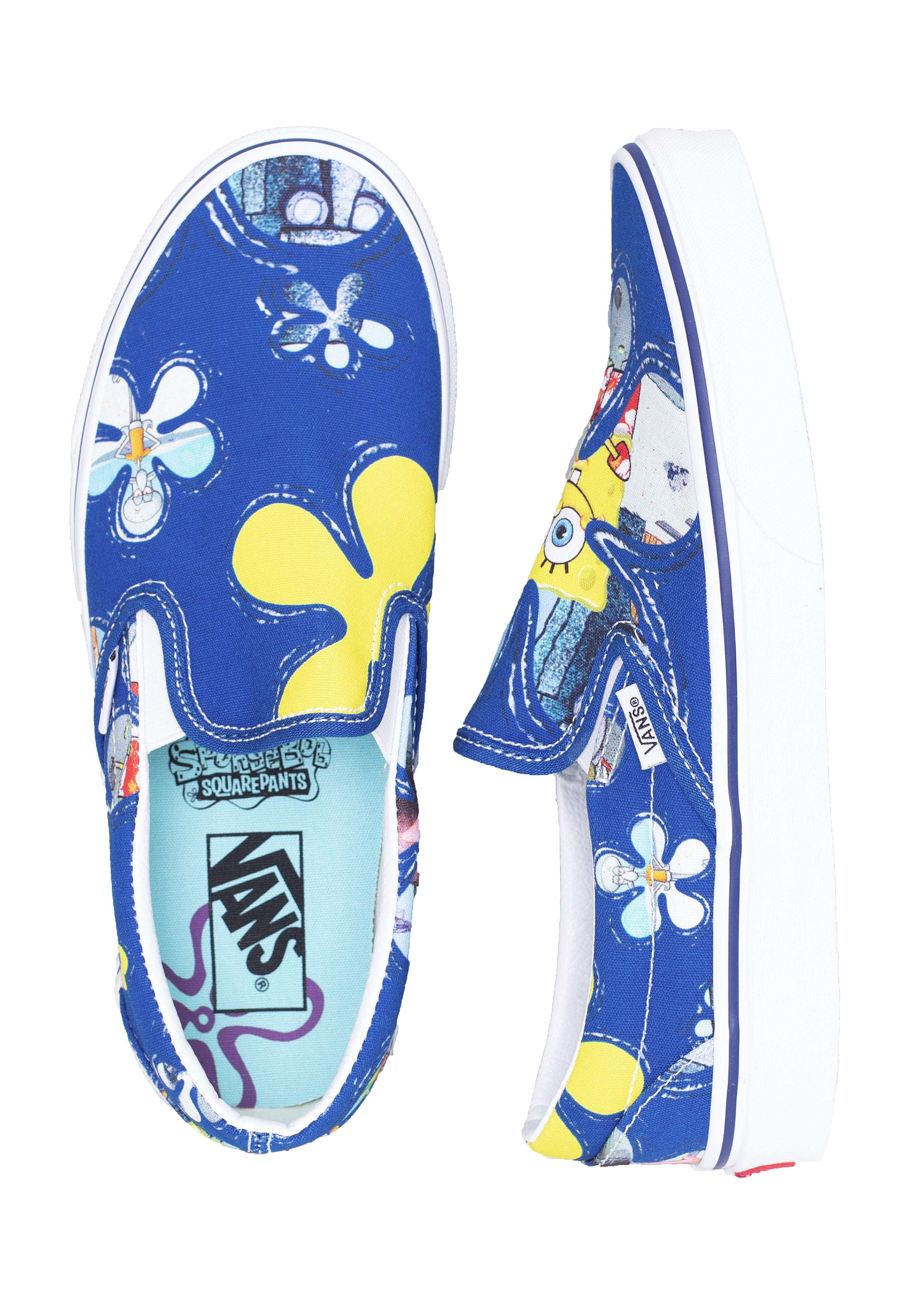 Vans x Spongebob - Classic Slip On Aloha Bob - Girl Shoes ...