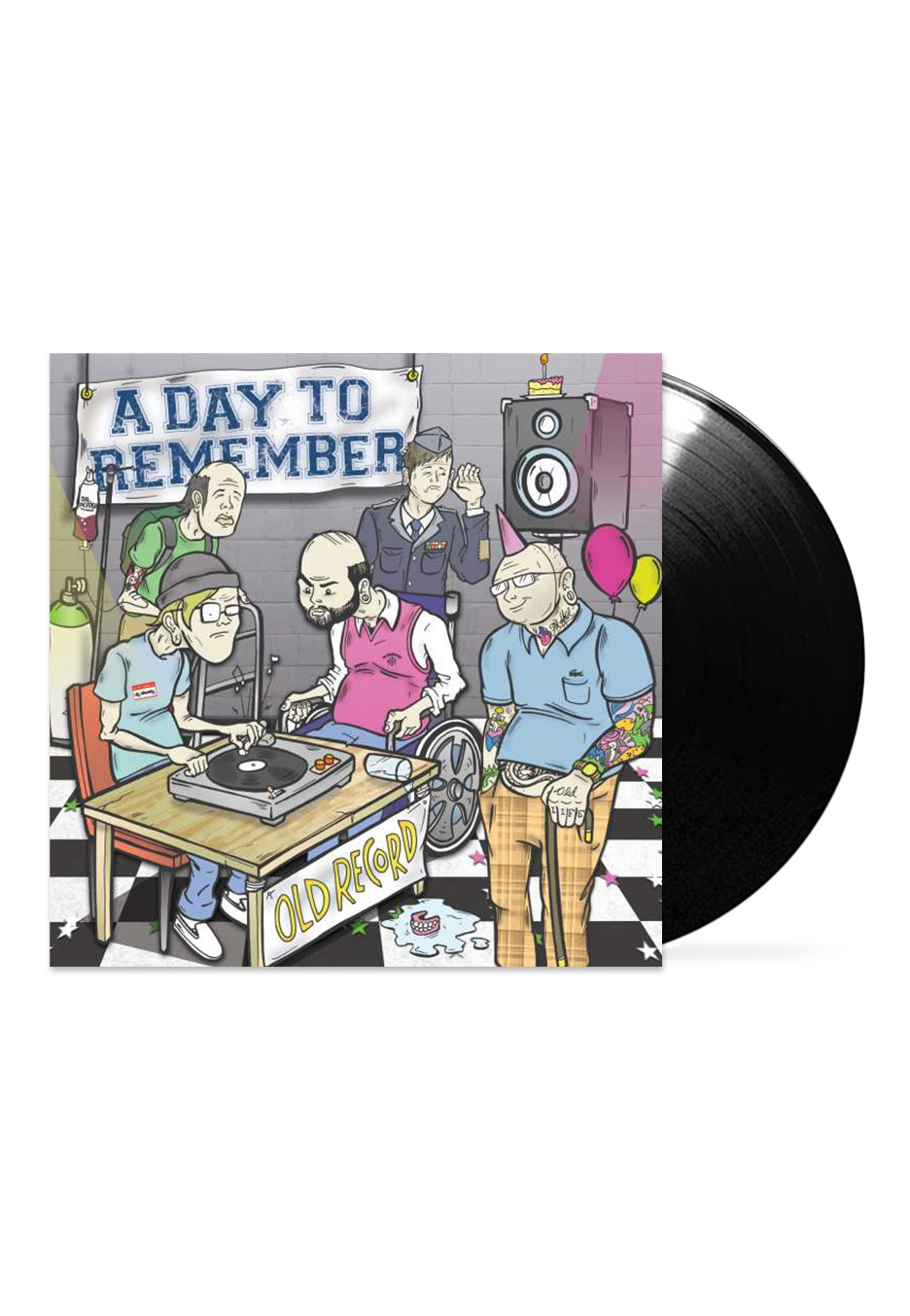 A Day To Remember - Old Record - LP - Official Melodic ... A Day To Remember Old Record