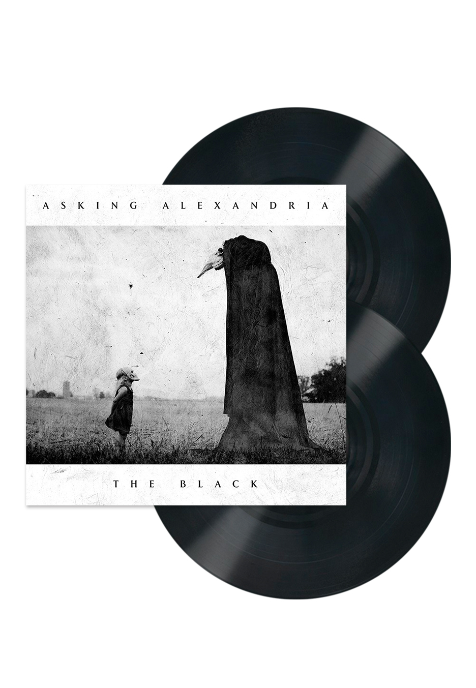ff4f32cba03 Asking Alexandria - The Black - 2 LP - Official Metalcore Merchandise Shop  - Impericon.com UK