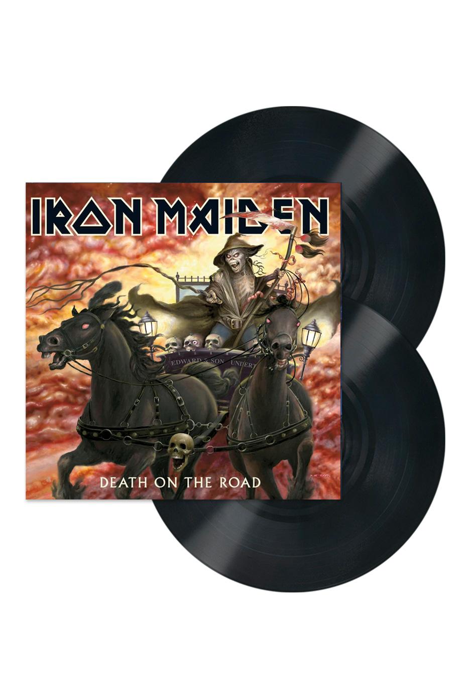Iron Maiden - Death On The Road (Live) - Vinyl