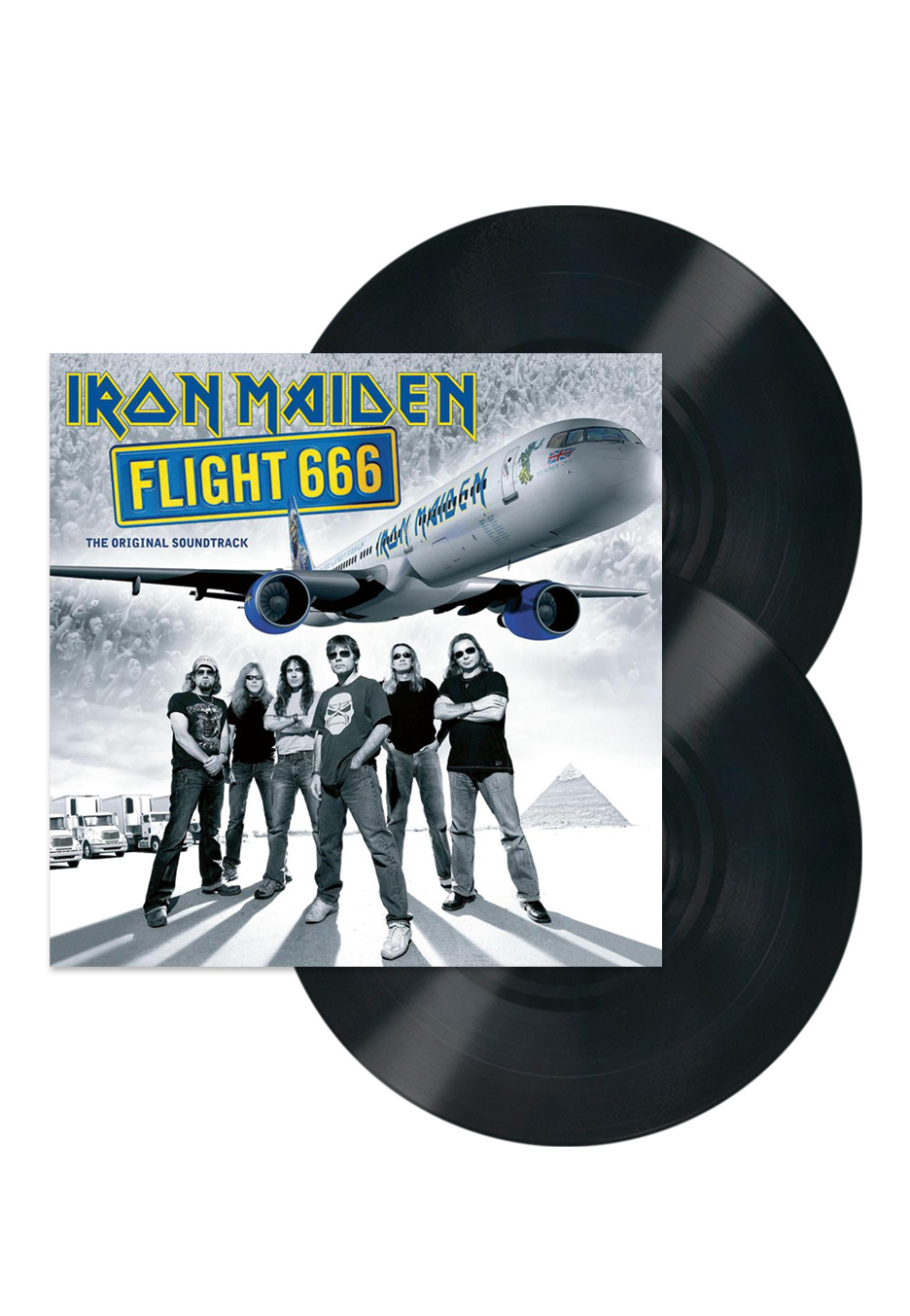 Iron Maiden - Flight 666 (Live) - Vinyl