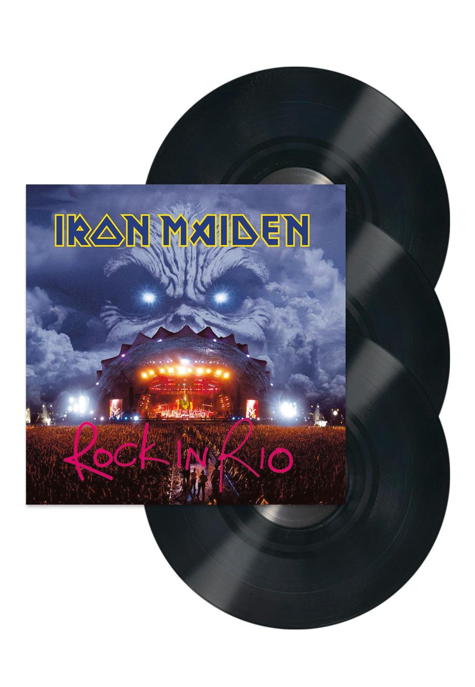 Iron Maiden - Rock In Rio (Live) - Vinyl