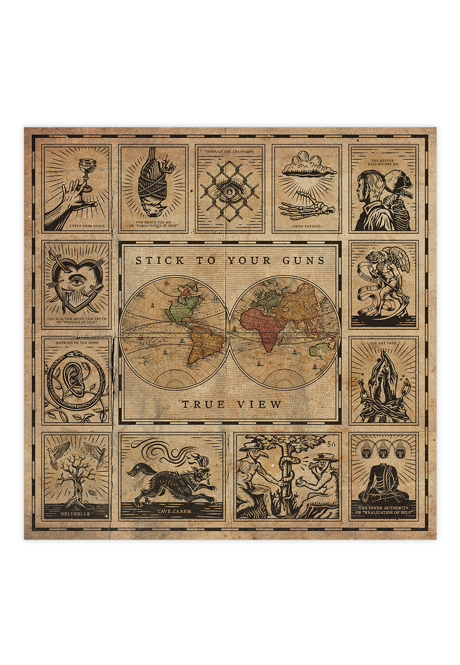 Stick To Your Guns - True View - CD