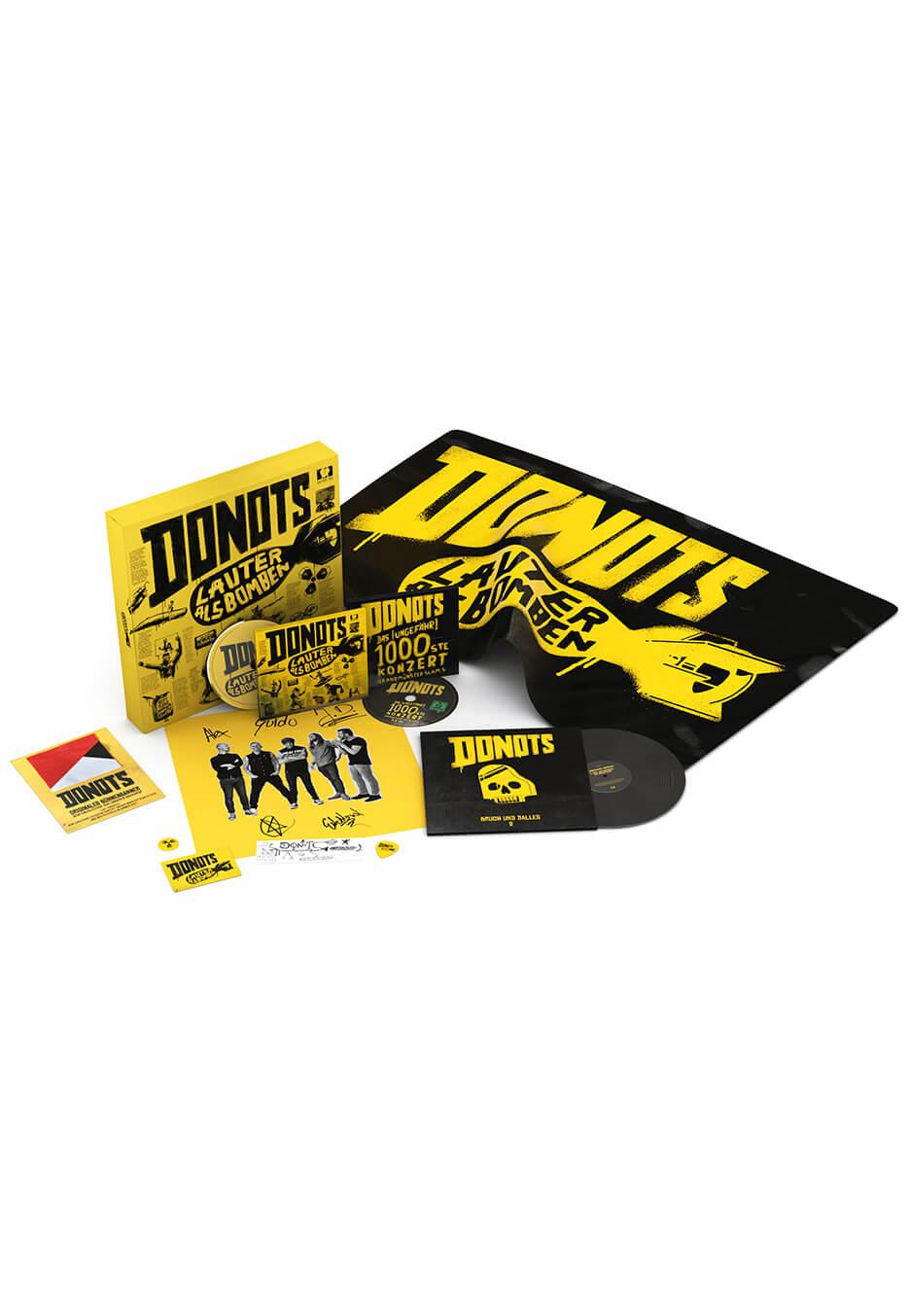 Donots - Lauter Als Bomben Limited Fan Box - CD