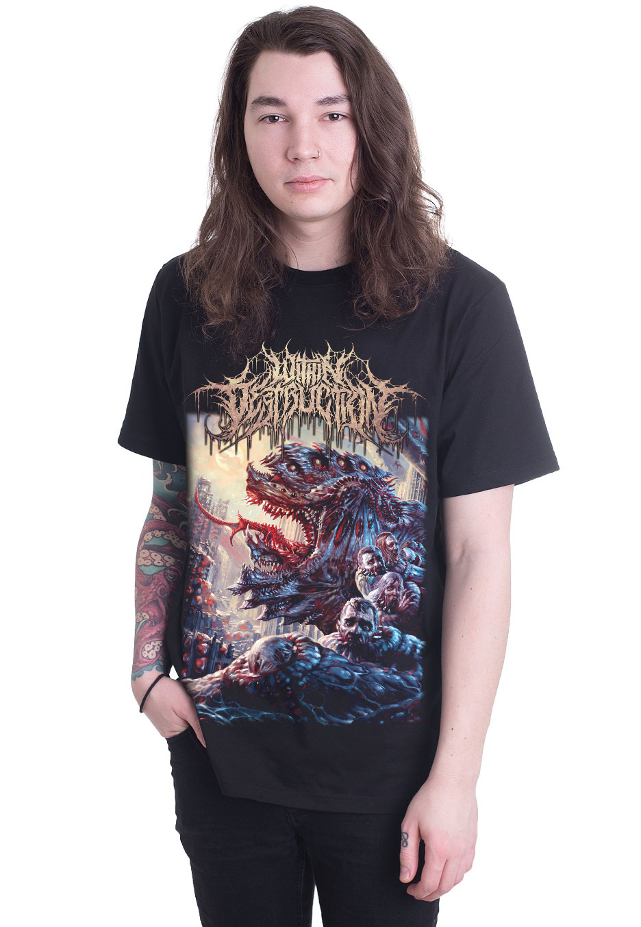 ef709964c59501 Within Destruction - Deathwish Special Pack - T-shirt - Officiell ...