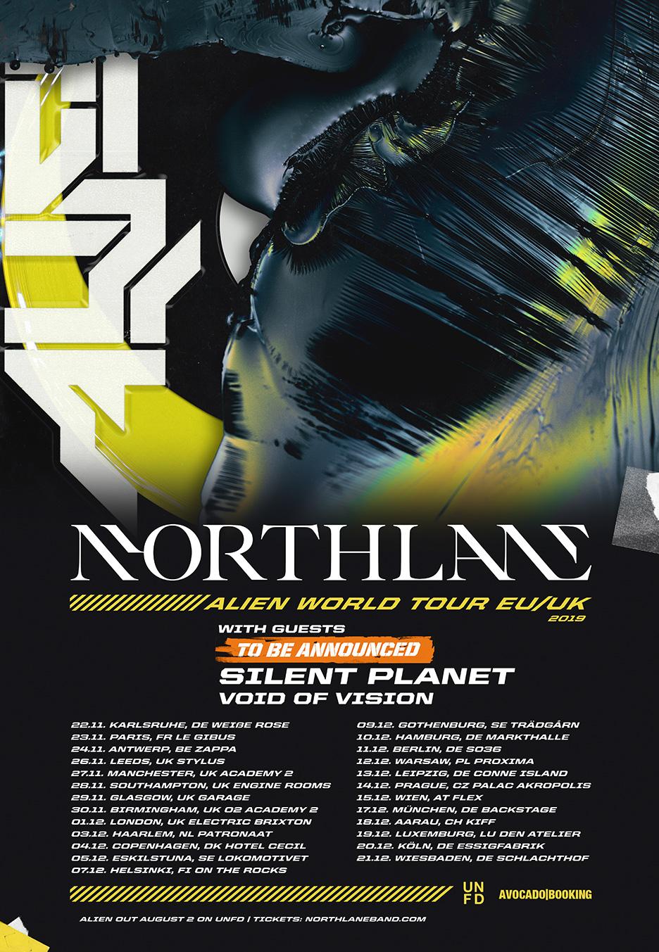 Northlane 17122019 München Ticket