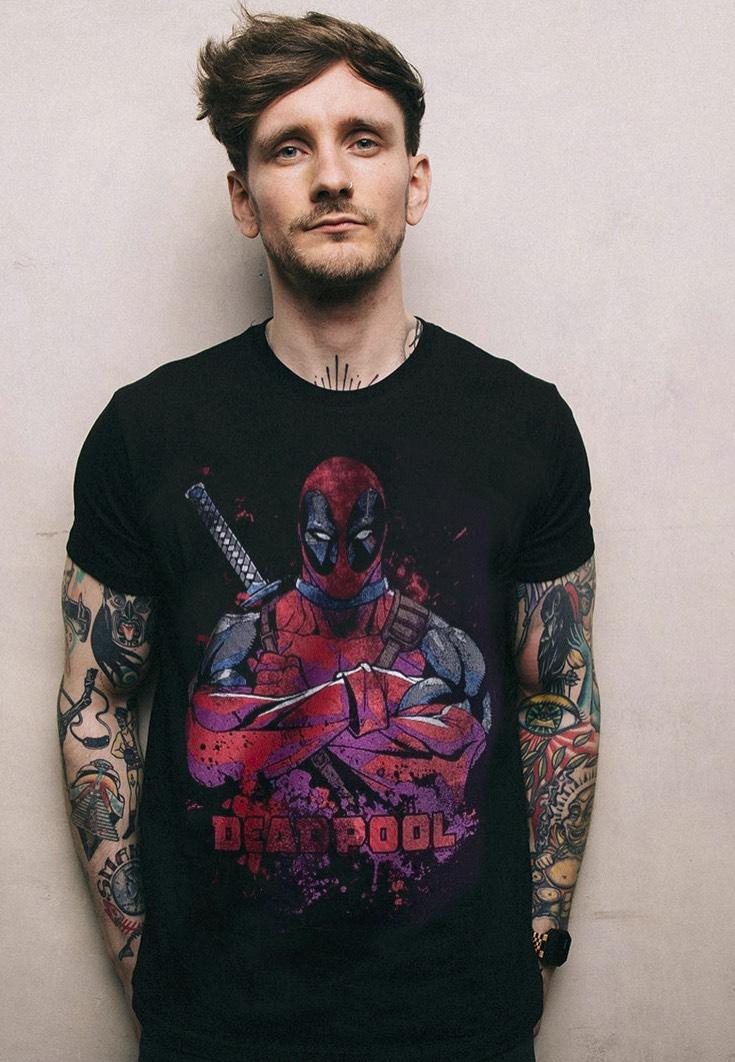 Deadpool - Pose Splat - - T-Shirts