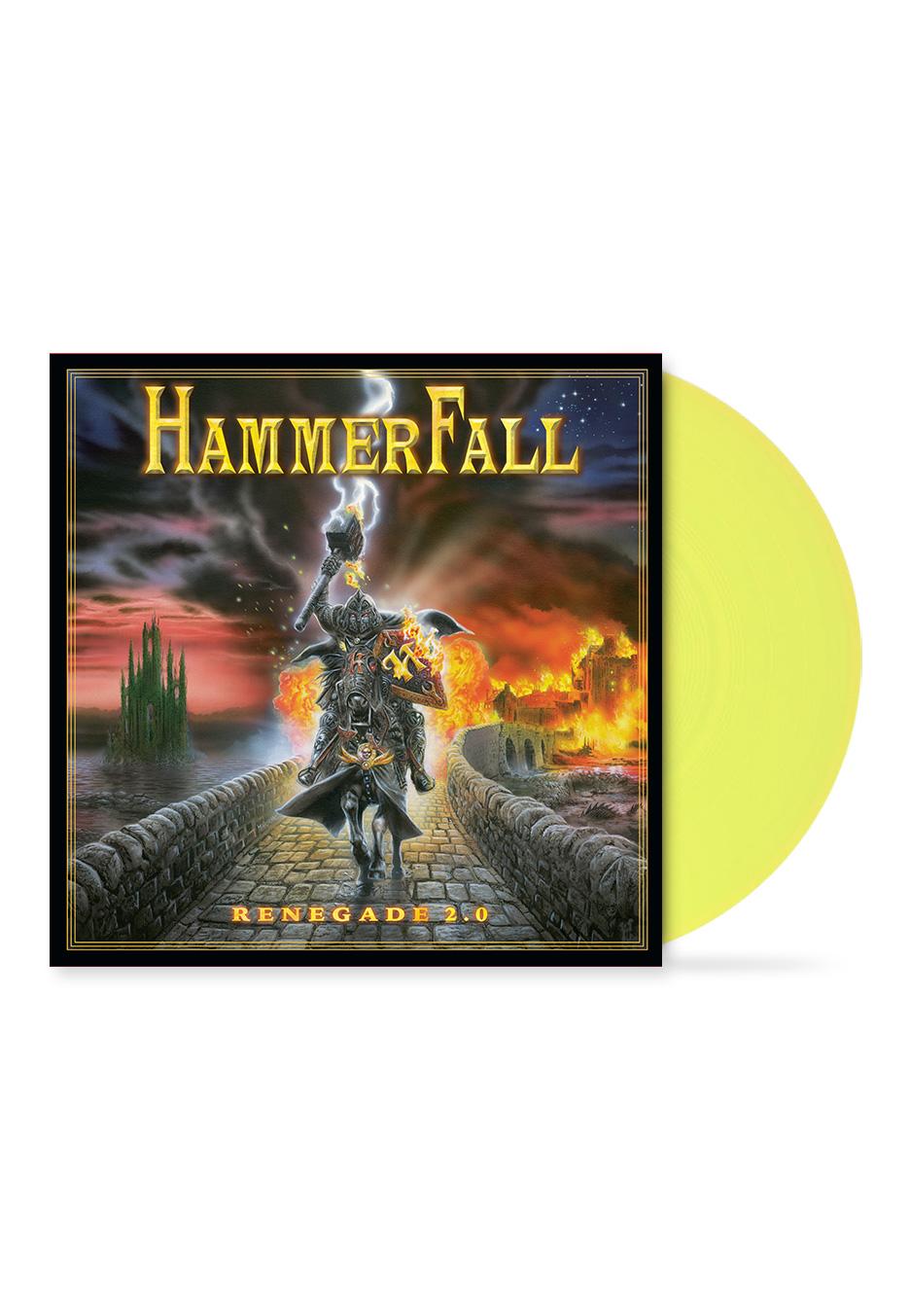 HammerFall - Renegade 2.0 20 Year Anniversary Transparent Yellow - Vinyl