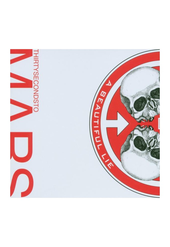 30 Seconds To Mars A Beautiful Lie Cd Official Pop Merchandise
