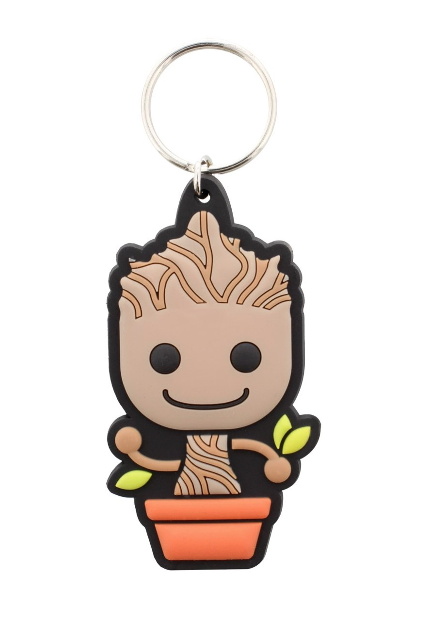 Guardians Of The Galaxy - Baby Groot Rubber - Keychains