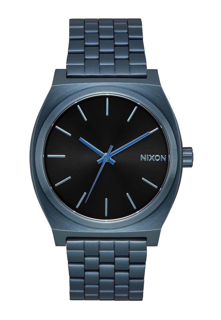 Nixon - Time Teller Blue Black Sunray - Hodinky - Impericon.com CZ SK 9b862084dd0