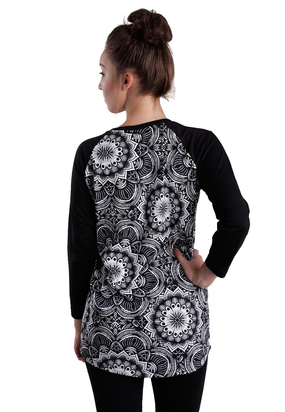 Abandon Ship Apparel - Mandala Multi Black - Longsleeve - Streetwear ... 307fd2bea