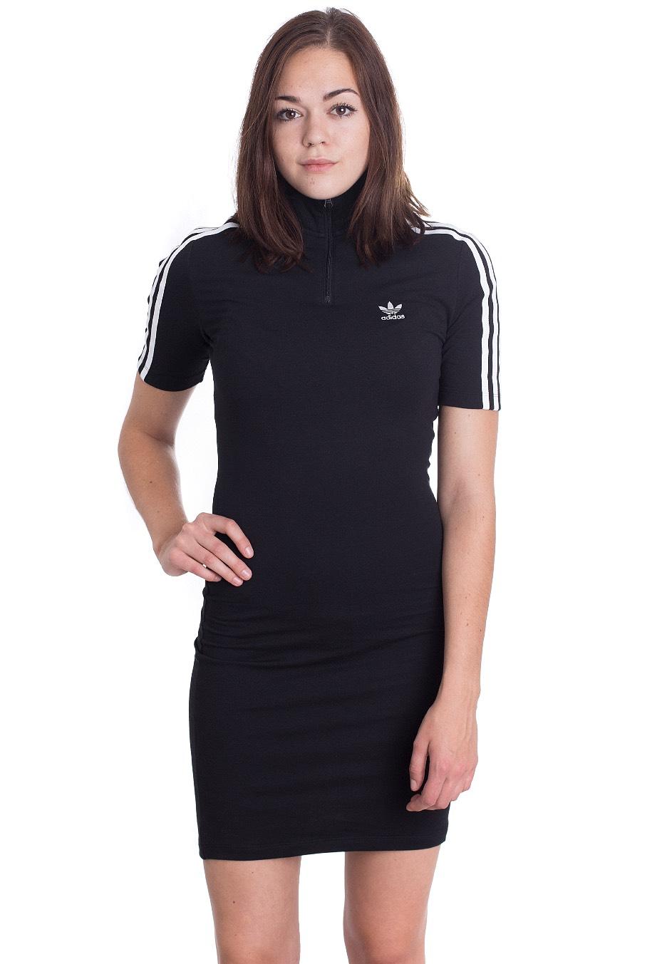 Adidas - 3 Stripes High Neck - Kleid