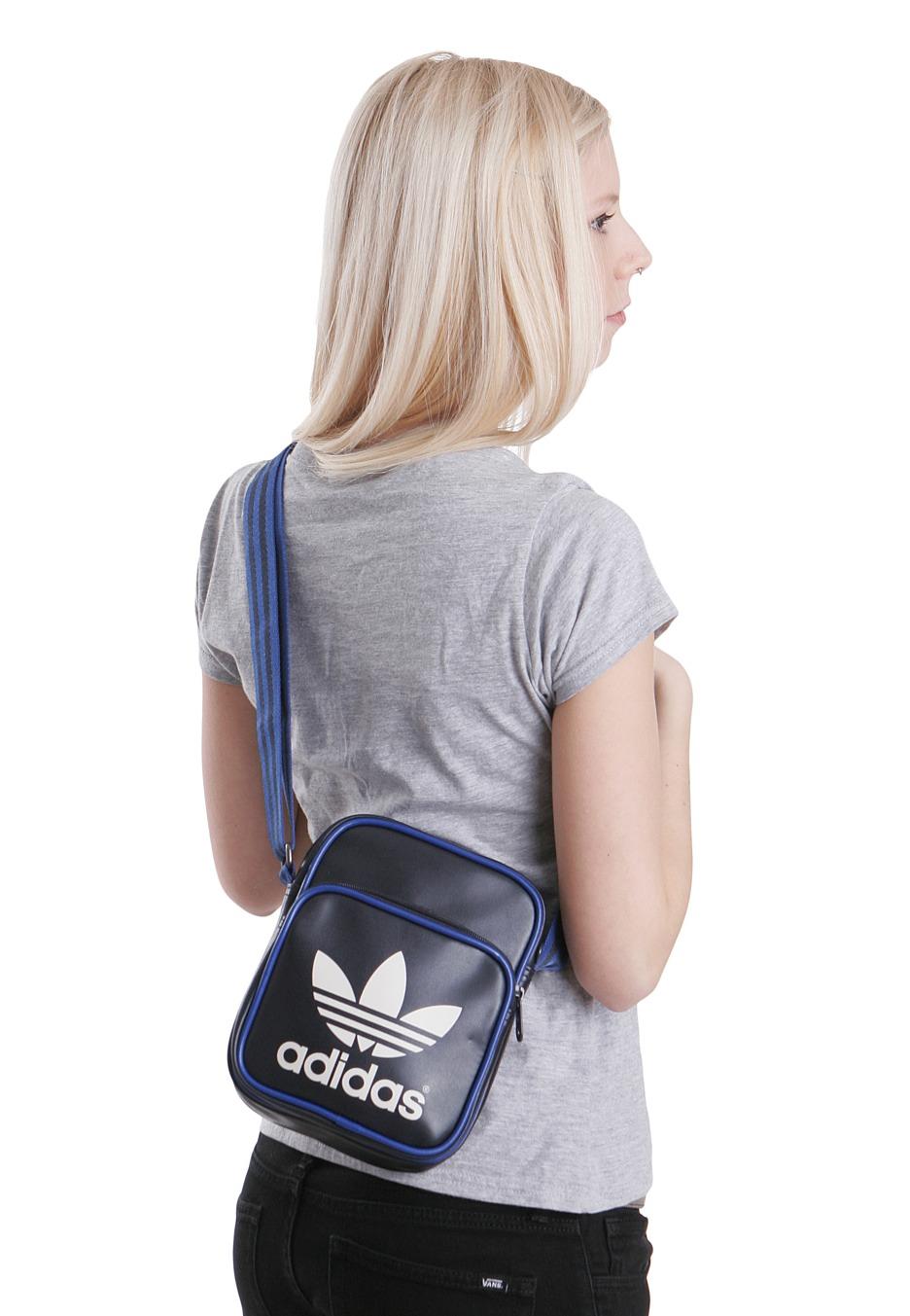 Adidas - Adicolor Mini Legend Ink True Blue - Bag - Streetwear Shop ... e8f8a4880a5a6