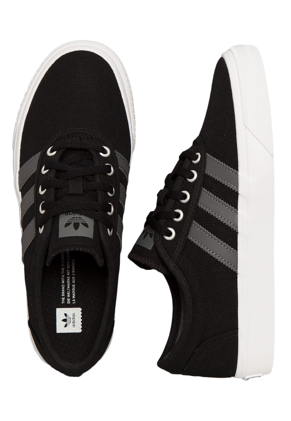 competitive price 52d6d 0c165 Adidas - Adi-Ease Core BlackGrey FourFtwr White - Girl Shoes -  Impericon.com UK