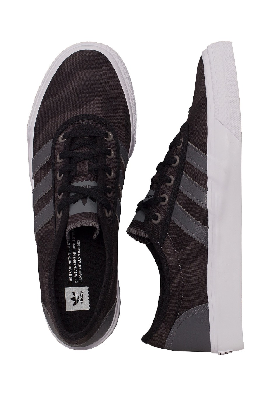 Adidas - Adi-Ease Core Black Solid Grey Ftw White - Shoes - Impericon.com UK 1560680b48040