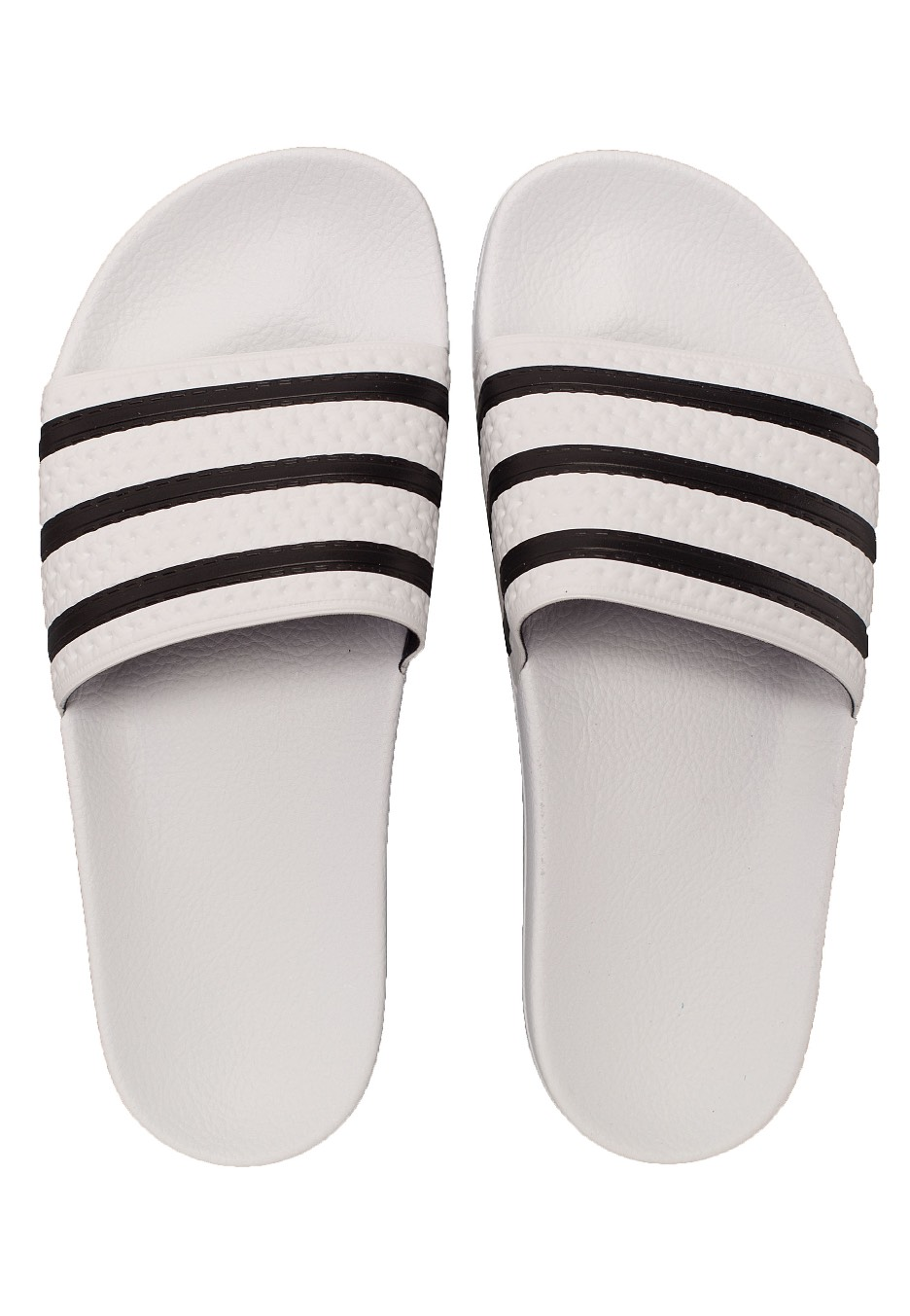 361426bff29 Adidas - Adilette White Core Black White - Sandals - Impericon.com UK