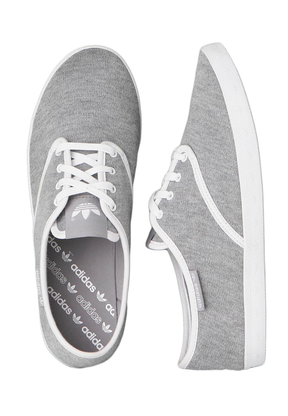 Adidas - Adria PS Medium Grey Heather  Shift Grey  White - Girl Shoes -  Impericon.com UK 19e07fb84319