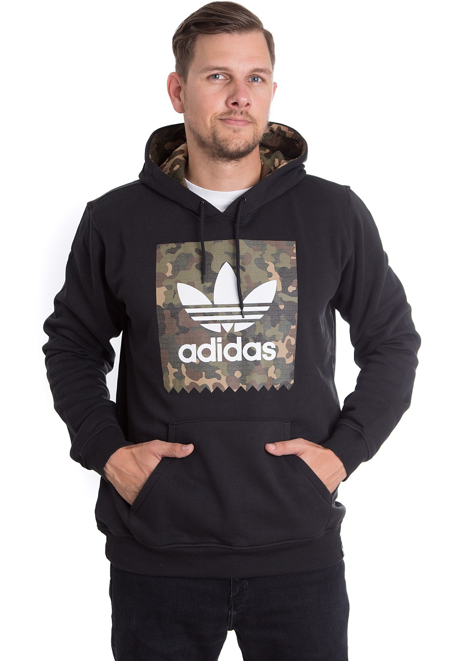 Adidas - Blackbird Camo Black Camo Print - Hoodie - Streetwear Shop -  Impericon.com Worldwide db94a2368208