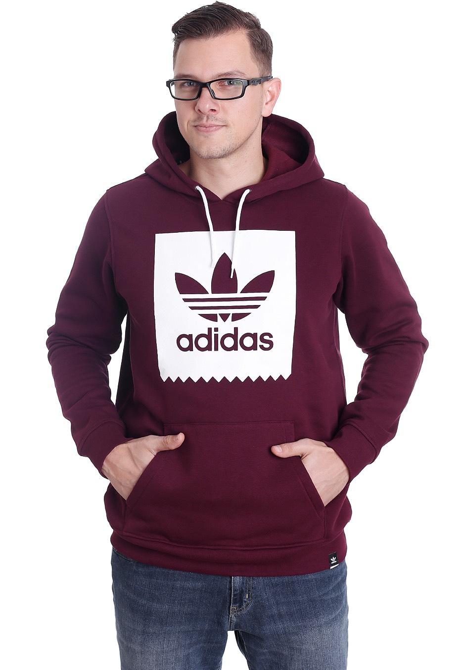 maroon adidas hoodie