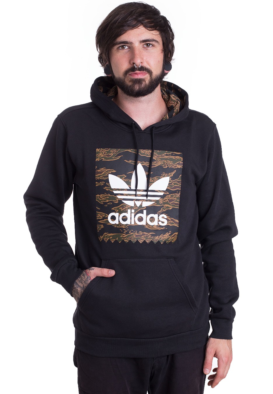 adidas camouflage hoodie