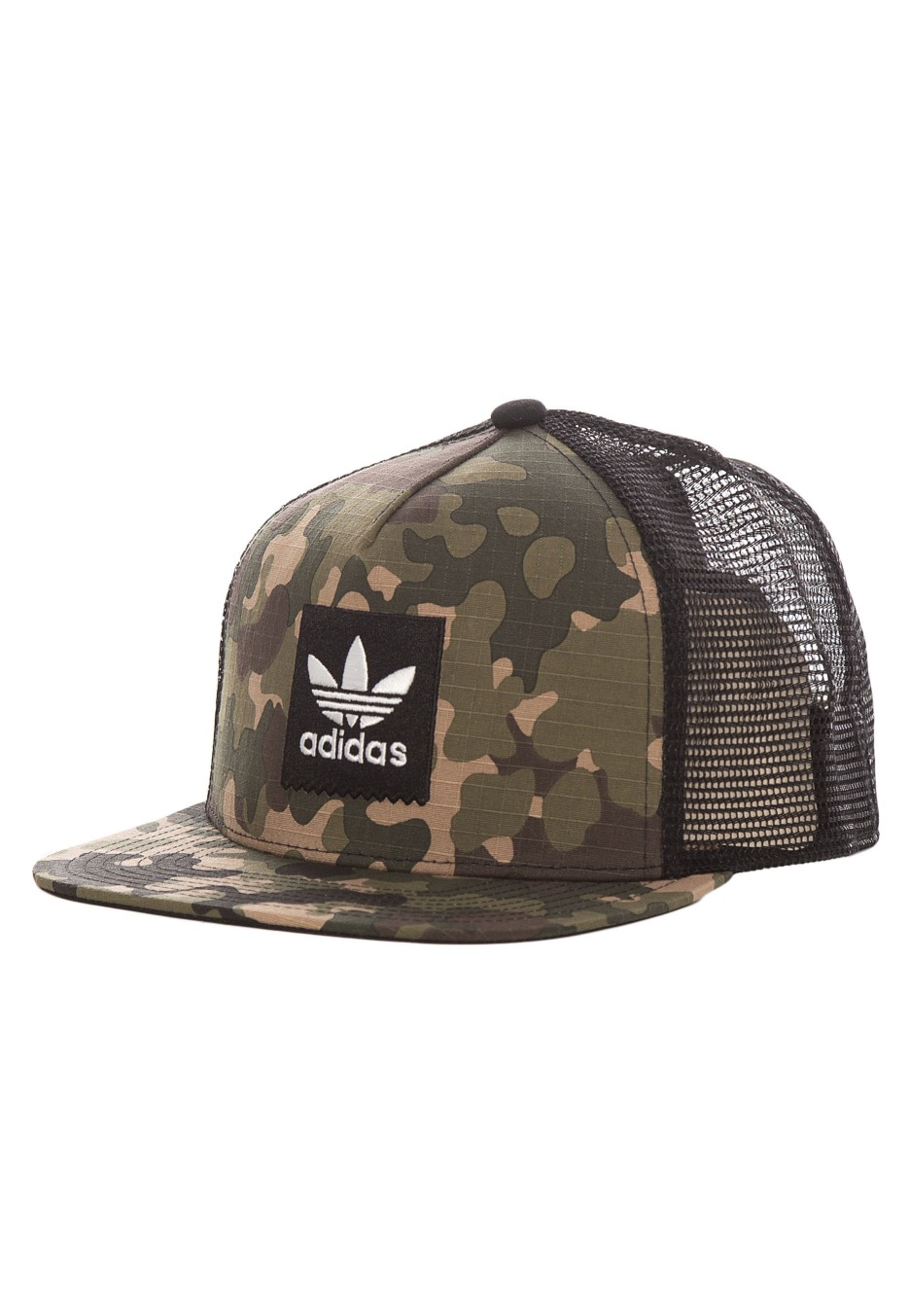 Adidas - Camo Trucker Multicolor - Cap - Streetwear Shop - Impericon.com UK 6d62f537cad