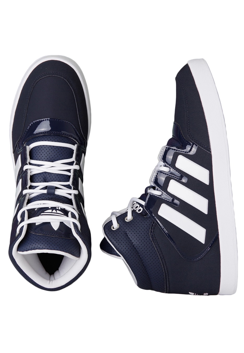 best service 66df7 75d88 Adidas - Dropstep Collegiate NavyRunning White - Shoes - Impericon.com UK