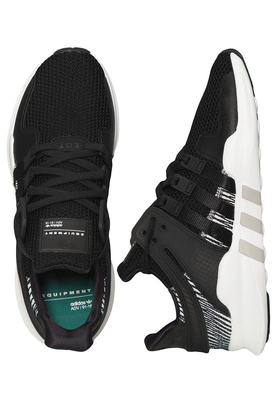 664ea81d1f39 Adidas - EQT Support ADV Core Black Core Black Ftwr White - Shoes -  Impericon.com AU