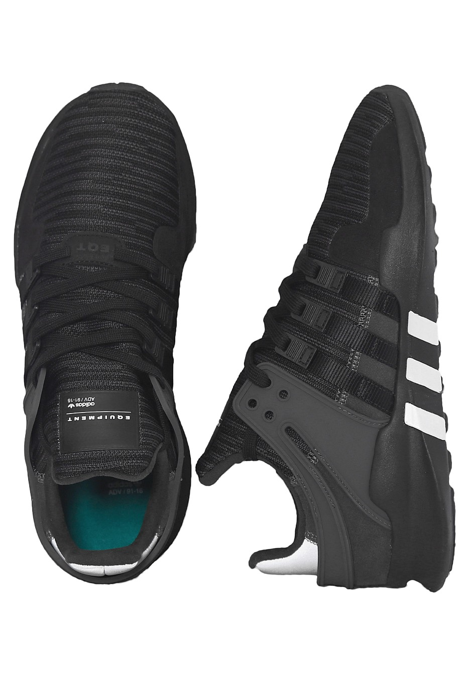 reputable site 5d99b 7628b Adidas - EQT Support ADV Core BlackUtility BlackDgh Solid Grey - Shoes -  Impericon.com Worldwide